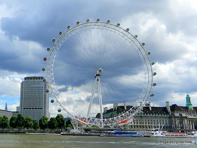 Londres: Roda Gigante London Eye