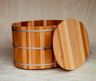 barrel-bathtub
