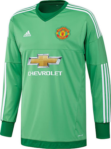 adidas manchester united 15 16 goalkeeper kits revealed footy headlines footy headlines