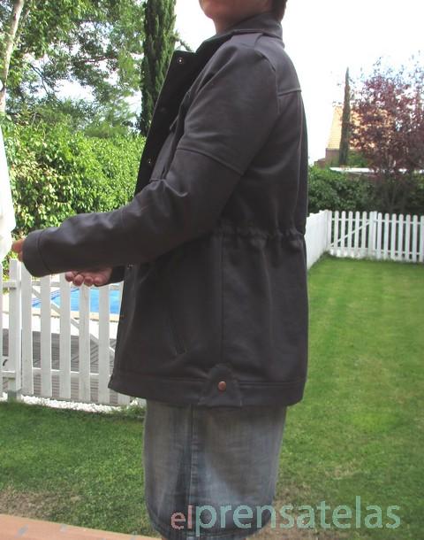 Patron chaqueta sahariana
