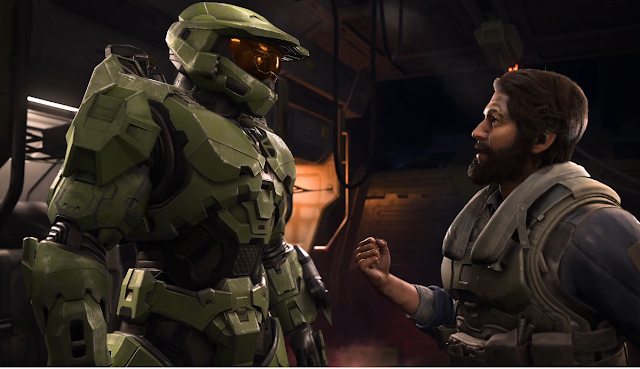 Halo Infinite Xbox Games Showcase cutscene Master Chief Spanish accent guy