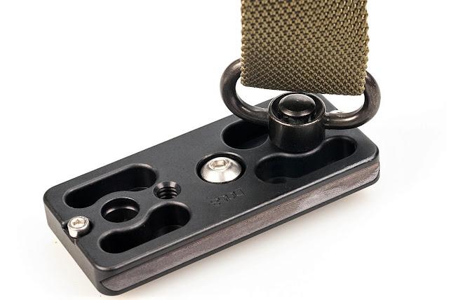 Hejnar D058 Lens Plate for Canon RF800 w/ QD Sling