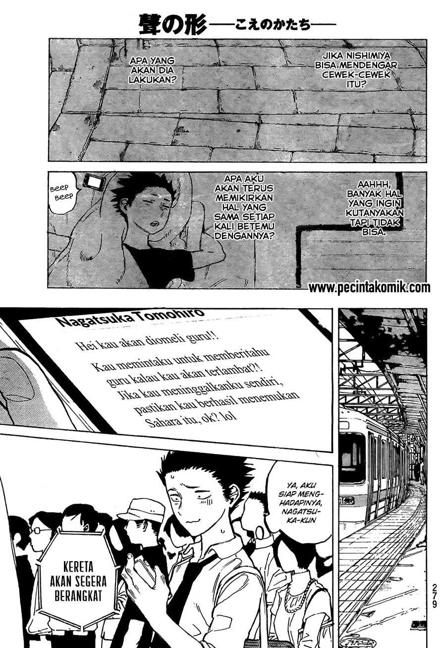 Koe no Katachi Chapter 16-8