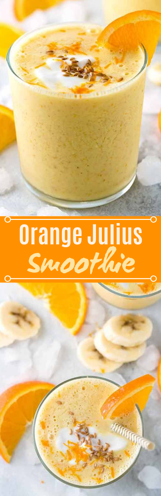 Orange Julius Smoothie #drinks #smoothies