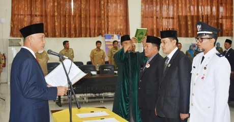 Dian Fakri Dicopot dari Jabatan Kasatpol PP Kota Padang