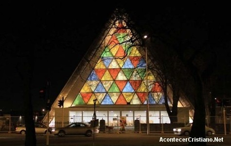Primera iglesia de cartón del mundo