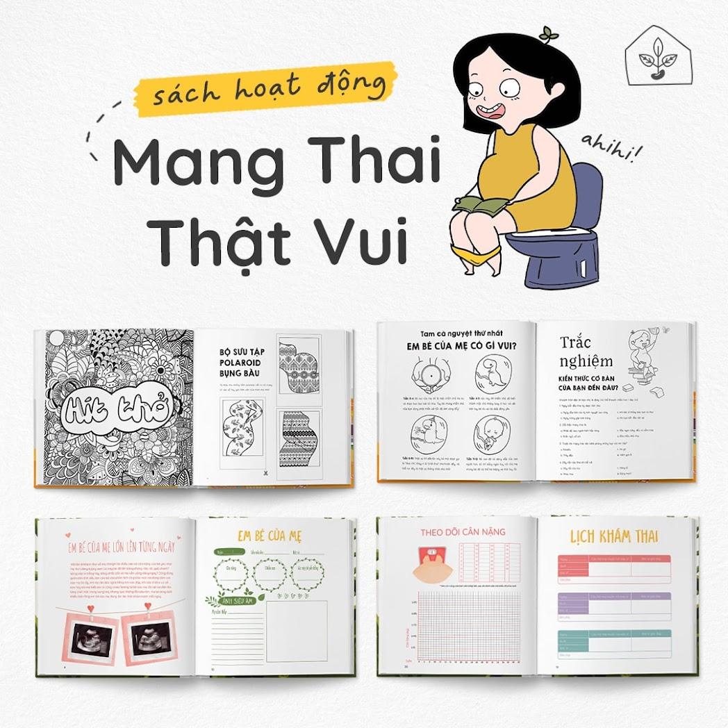 [A116] Activity book - Tải trọn bộ combo sách thai giáo hay nhất