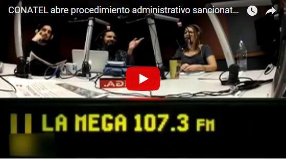 """Programa """"Calma Pueblo"""" de la Mega 107.3 sale del aire por sanciones de Conatel"""