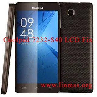 Coolpad 7232-S40 LCD Fix (10 MB)