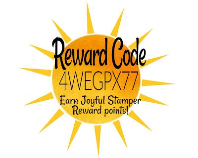 loyalty program, joyful stamper rewards, stampin' up!, stamping rewards, free stamping product, free craft supplies