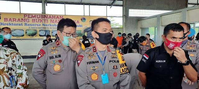Personel Polda Positif Covid-19, Mapolda Jambi Akan Lakukan Rapid Test Massal