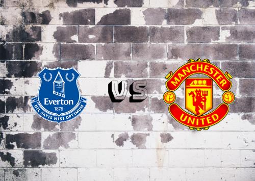 Everton vs Manchester United  Resumen y Partido Completo