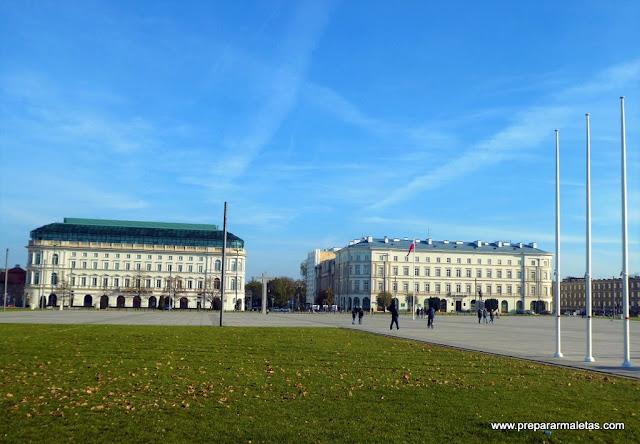 plaza del soldado desconocido de Varsovia