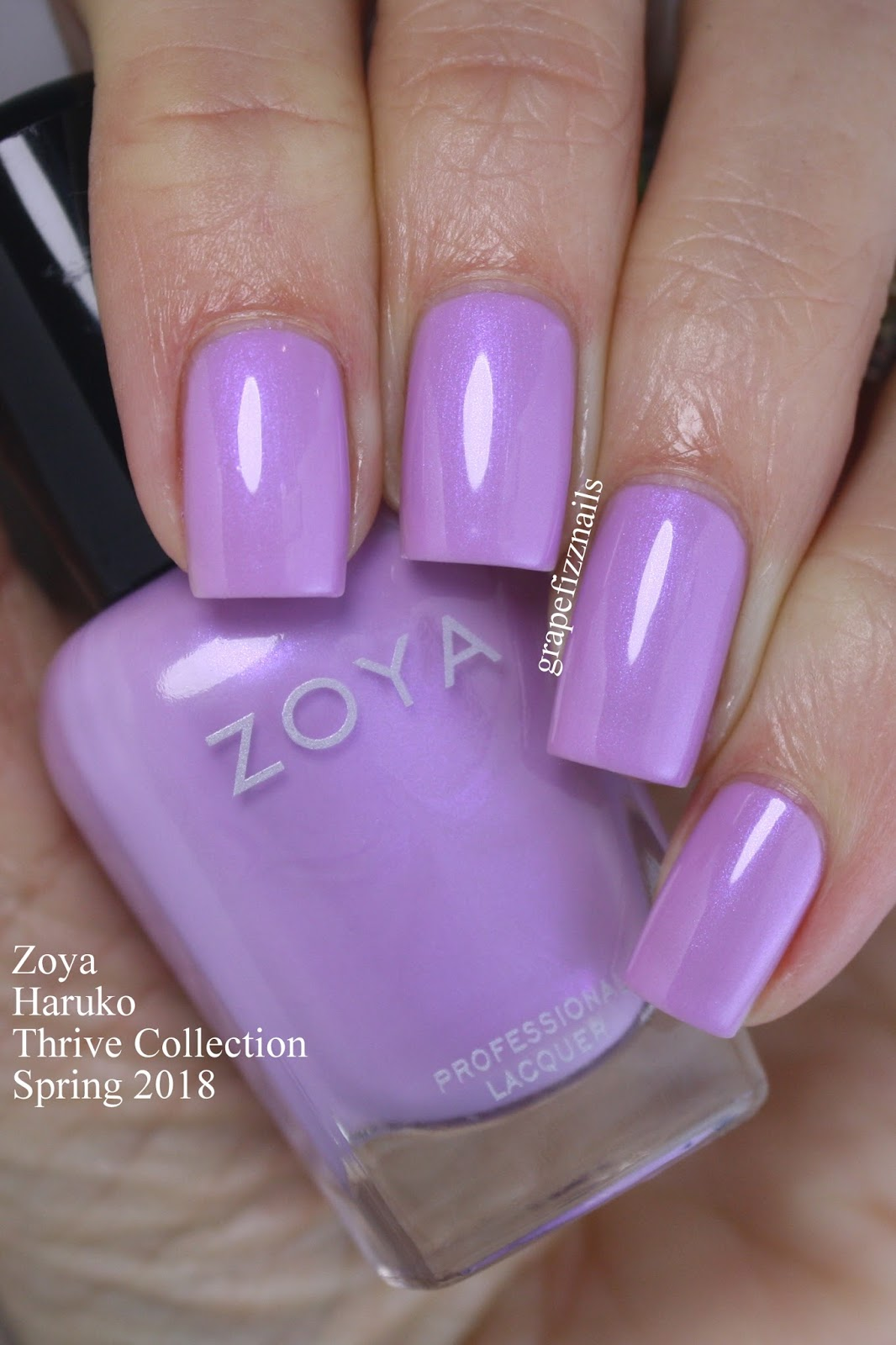 Grape Fizz Nails: New! Zoya Thrive Collection For Spring 2018
