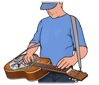 リゾネーター・ギター resonator guitar