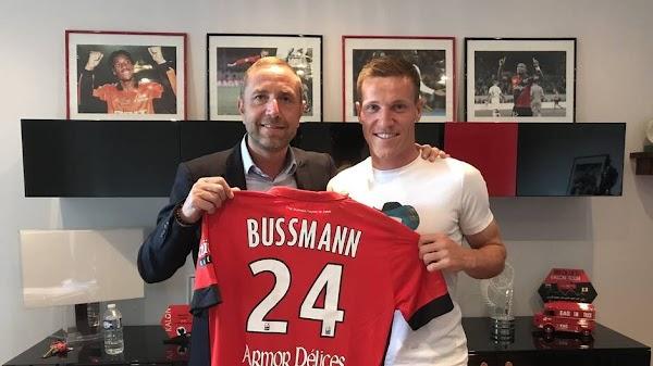 Oficial: Guingamp, firma Bussmann