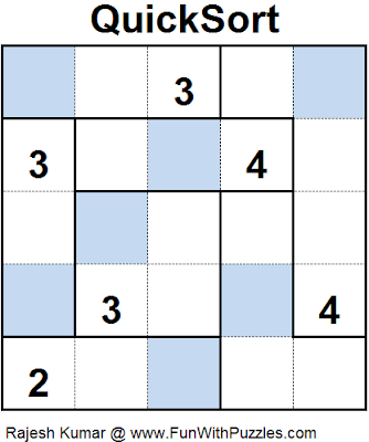 Quick Sort (Mini Puzzles Series #27) Solution
