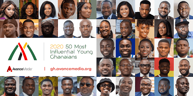 2020 50 Most Influential Young Ghanaians List announced by Avance Media
