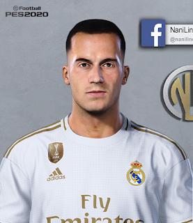 PES 2020 Faces Lucas Vázquez by Nanilincol44