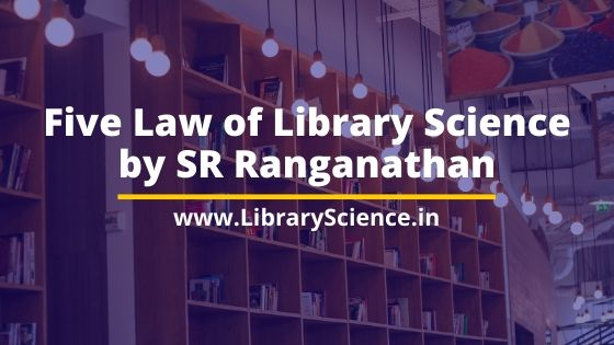 Five Law of Library Science