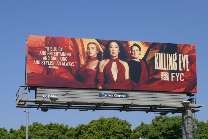 Killing Eve season 3 Emmy FYC billboard