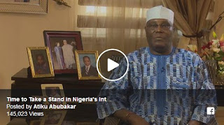 Ex Vice President, Atiku Abubakar Announces His Return to PDP