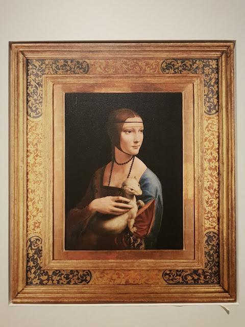 Dama con l'ermellino di Leonardo da Vinci-Museo nazionale di Cracovia