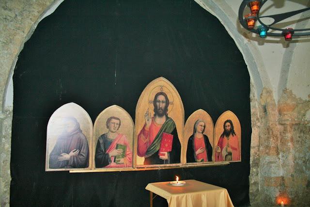 quadri ortodossi, candele