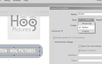 Cara Menambahkan Sound pada Button di Adobe Flash - Hog Pictures