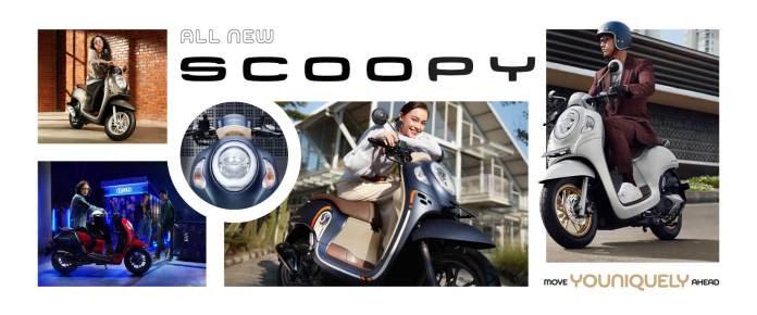 8 Pilihan Warna yang Menarik dari All New Honda Scoopy