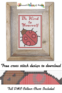 Creature Comforts! Be Kind to Yourself Ladybug Cross Stitch Pattern Free to Download ladybug cross stitch, be kind to yourself cross stitch, cross stitch for beginners, insect cross stitch, be kind cross stitch pattern cross stitch funny, subversive cross stitch, cross stitch home, cross stitch design, diy cross stitch, adult cross stitch, cross stitch patterns, cross stitch funny subversive, modern cross stitch, cross stitch art, inappropriate cross stitch, modern cross stitch, cross stitch, free cross stitch, free cross stitch design, free cross stitch designs to download, free cross stitch patterns to download, downloadable free cross stitch patterns, darmowy wzór haftu krzyżykowego, フリークロスステッチパターン, grátis padrão de ponto cruz, gratuito design de ponto de cruz, motif de point de croix gratuit, gratis kruissteek patroon, gratis borduurpatronen kruissteek downloaden, вышивка крестом