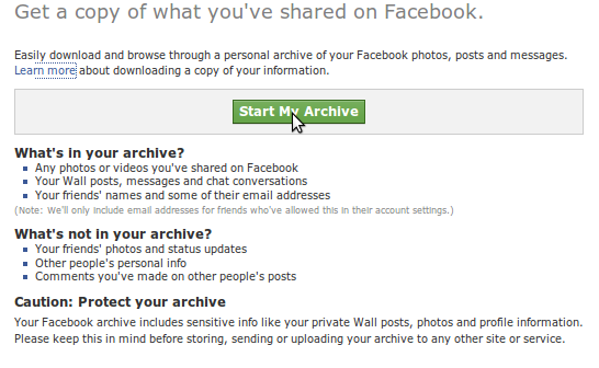 Download Your Facebook Information [How To]: Tech Gaun - Your tech