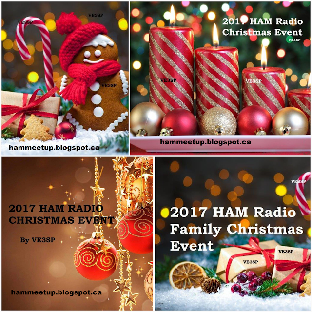 2017 HAM Radio Canada Christmas Event