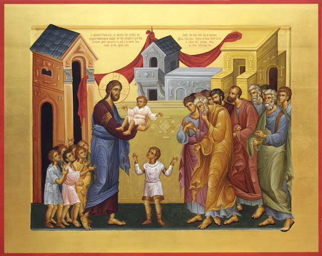 Икона Благословения детей