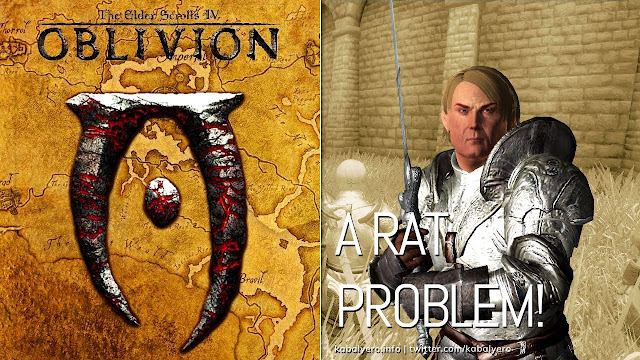 A Rat Problem! Quill - Weave! The Elder Scrolls IV: Oblivion Gameplay 2020
