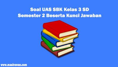 Soal UAS SBK Kelas 3 SD Semester 2 Beserta Kunci Jawaban 2019