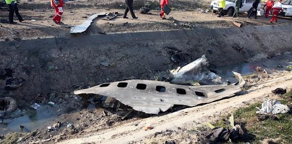 """Irán justificó haber derribado al avión de Ucrania: """"No contestaron durante 10 segundos"""""""