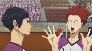 ハイキュー!! アニメ 3期1話   五色工 Goshiki Tsutomu   Karasuno vs Shiratorizawa   HAIKYU!! Season3