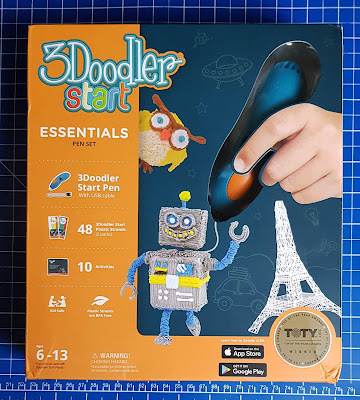 3Doodler Start 3D Printing Pen Review pack shot