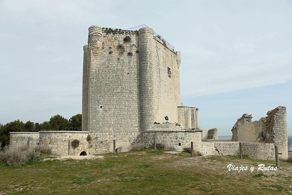 Castillo de Íscar, Valladolid
