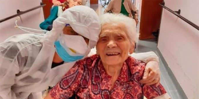 La anciana de 104 años que ha sobrevivido a dos guerras mundiales, la gripe española y al coronavirus