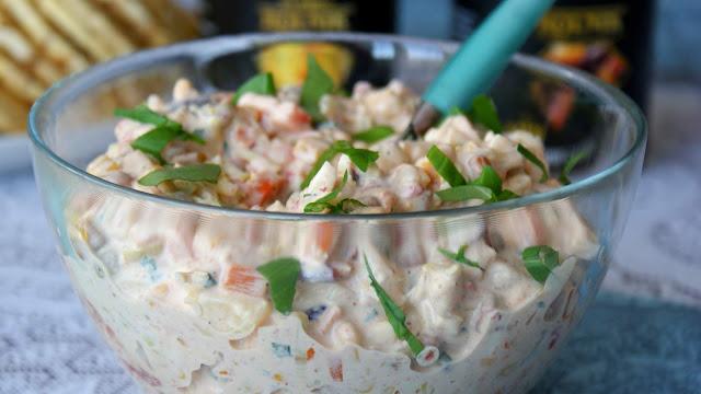 sałatka na imprezę,szybka sałatka,sałatka jarzywnowa,mix warzywny z chili,mix meksykański rolnik,firma rolnik,załatka na święta,z kuchni do kuchni,