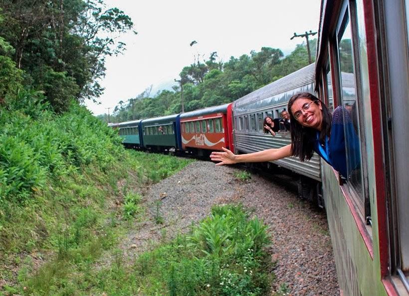 Passeio de trem de Curitiba a Morretes, Paraná