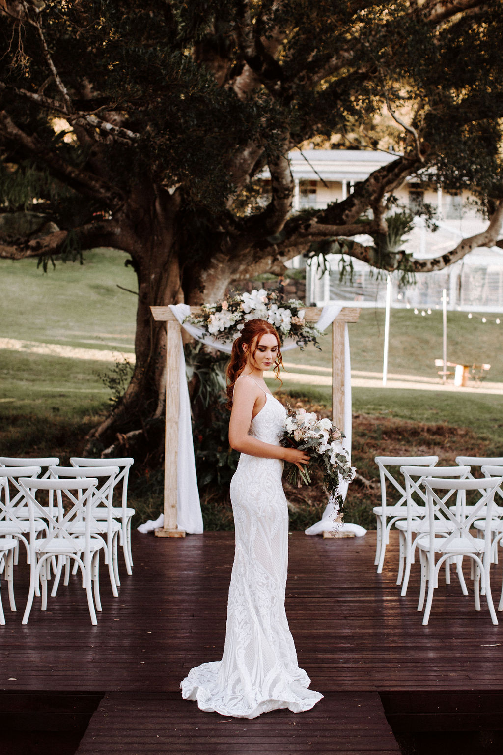 kayla temple photography weddings glass house mountains sunshine coast florals stationery outdoor marquee reception