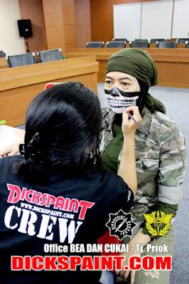 Face Painting Skeleton Jakarta
