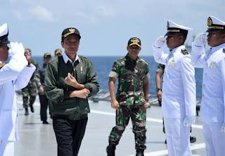 Presiden RI : Latihan Untuk Mengupdate Kemampuan dan Senjata Strategis