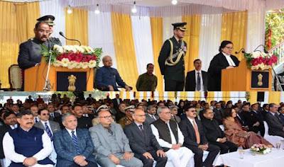 Girish Chandra Murmu sworn in as first Lieutenant Governor of Union Territory of Jammu and Kashmir