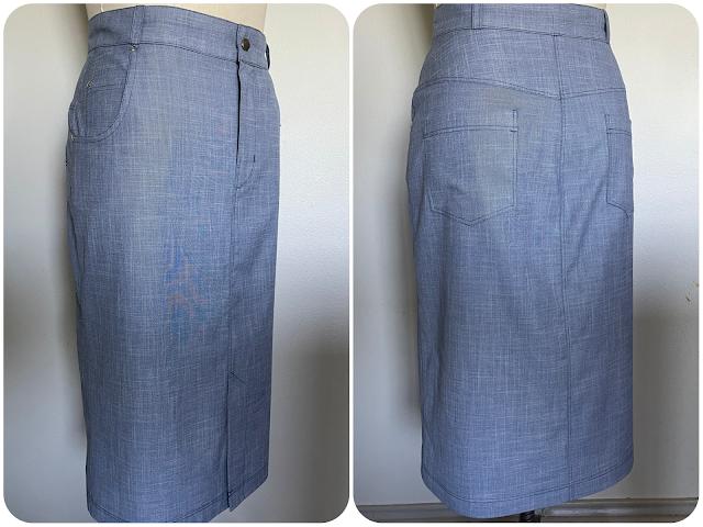 McCall's 8149 Skirt - Erica Bunker DIY Style x Zelouf Fabrics