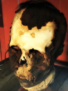 Crânio Indígena Mumificado, Museu Júlio de Castilhos