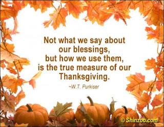 thanksgiving ideas for church